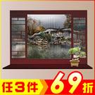 創意壁貼-中式庭院窗戶風景畫 MJ8018A-989【AF01013-989】聖誕節交換禮物 99愛買生活百貨