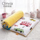 幼兒園床墊子棉加絨墊套兒童床褥四季寶寶床午睡嬰兒床絲綿墊芯冬qm    橙子精品