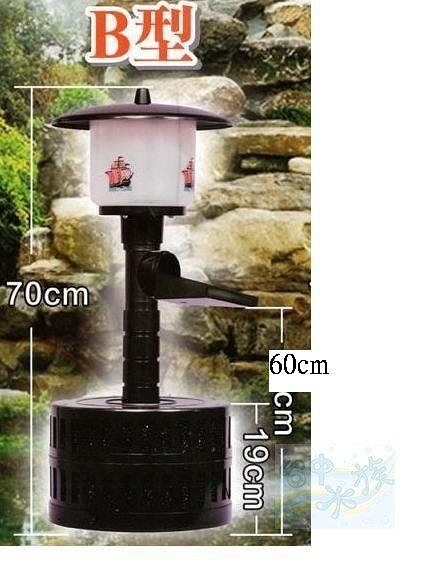{台中水族}台灣福星-相思燈魚池過濾器B型-﹙中﹚4000公升-110V-加高款  特價