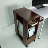 電腦托架 電腦主機架子置物架辦公室主機柜收納柜打印機置物架可移動TW【快速出貨八折下殺】