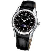 CONSTANT 康斯登/雙時區自動機械腕錶/FC-330B6B6