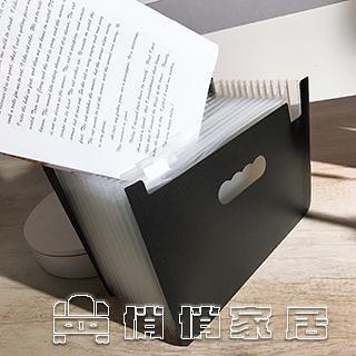檔夾 一體成型自立站立彩虹風琴包檔夾24層3面風琴包定制a4多層分類 雙十一活動 【618特惠】