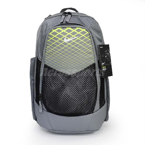 5a5e96261c Nike 後背包Vapor Power Backpack 灰綠男款訓練背包包包 PUMP306