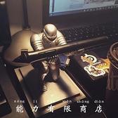 騎士筆架|創意禮物生日送男生男朋友特別實用高級科技感兄弟小眾 wk