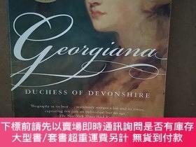 二手書博民逛書店Georgiana:罕見Duchess of Devonshire(英文原版 精美插圖本)Y269331 Am