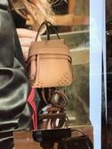 ■現貨在台■專櫃55折■Tod's 小款 Small Wave 新款 後背/斜肩/手提三用包 CLAY 陶土色