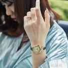 聚利時手錶女時尚女學生簡約氣質小錶盤女士細皮帶石英手錶ins風  一米陽光