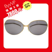 【限時5折】BYWP 太陽眼鏡 薄鋼 墨鏡  BY06004BG 金 久必大眼鏡
