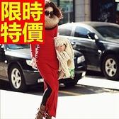 洋裝-長袖魅力獨特經典韓版連身裙61a70【巴黎精品】