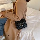 秋冬ins洋氣網紅包包女新款韓版時尚菱格百搭單肩斜挎小方包 優拓
