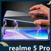 realme 5 Pro 萬磁王金屬邊框+鋼化雙面玻璃 刀鋒戰士 全包磁吸款 保護套 手機套 手機殼