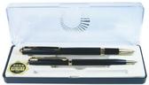 《☆享亮商城☆》A-0303 黑桿 砂面鋼珠筆 對筆 巨倫