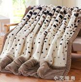 拉舍爾毛毯加厚雙層單人雙人珊瑚絨毯子婚慶蓋毯 igo