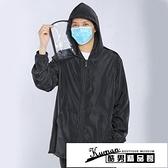 防護服 上班族工作出行可坐火車飛機防疫防飛沫上衣外套重復使用 酷男