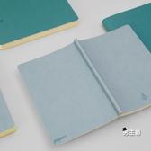 筆記本生日禮物記事本 商務筆記本復古日記本簡約文具辦公本子A5加厚 快速出貨