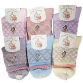 彼得兔/比得兔 提花精繡童襪13-16cm(顏色隨機出貨)SK5722[衛立兒生活館]