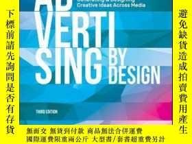 二手書博民逛書店Advertising罕見by Design: Generating and Designing Creative