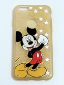 正版授權 迪士尼/Disney Apple iPhone 6 Plus/iPhone 6S Plus(5.5吋) 軟式手機保護殼 閃粉系列 2款