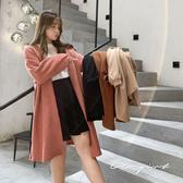 中大尺碼  針織長版開襟外套 -共四色- 適XL~4L《 69189 》CC-GIRL