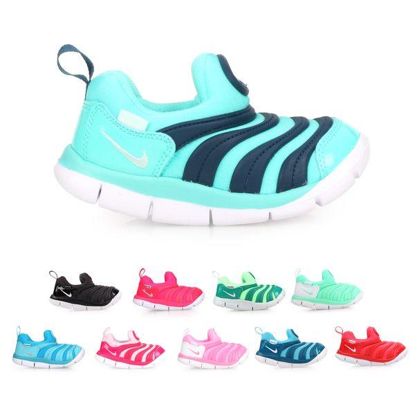 NIKE DYNAMO FREE(TD) 女小童運動鞋(免運 毛毛蟲鞋 慢跑 童鞋≡排汗專家≡