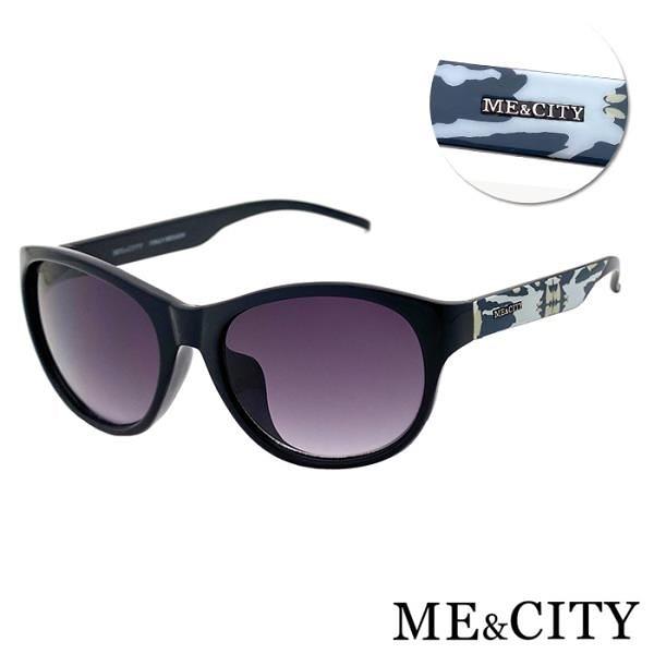 【南紡購物中心】【SUNS】ME&CITY 時尚義式多彩紋樣太陽眼鏡 抗UV400 (ME 120005 L400)