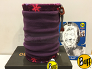 Buff Original 西班牙抽繩保暖頭巾 POLARTEC- 紫霜冰心 (BF101395)