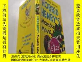 二手書博民逛書店horrid罕見henry s monster movie: 可怕的亨利的怪獸電影.Y212829 不祥 不祥