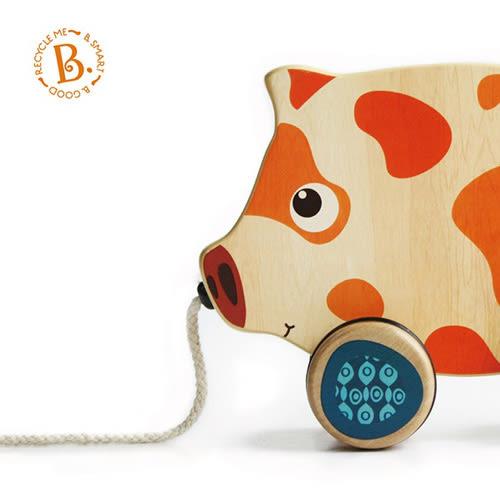 【奇買親子購物網】美國 B.Toys 斑斑豬散步