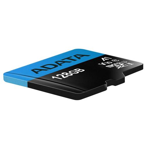 ADATA 威剛 128GB 大容量 Premier microSDXC UHS-I Class 10 (A1) TF 大容量 記憶卡