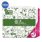 優活Livi抽取式衛生紙100抽100包(箱)【愛買】
