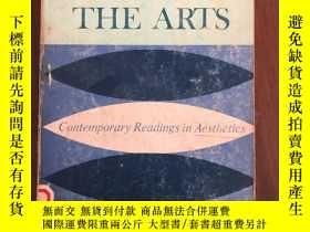 二手書博民逛書店philosophy罕見looks at the artsY25