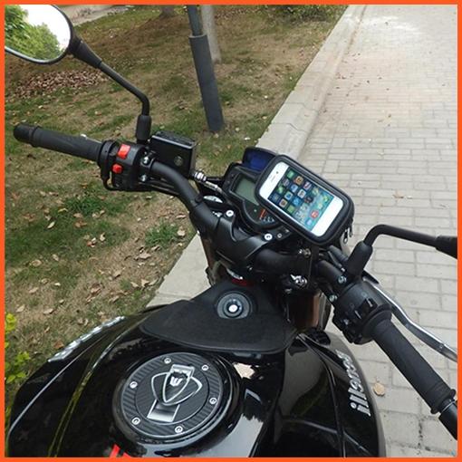 mio mii Suzuki GSR nex address sym支架保護套皮套手機座摩托車導航檔車機車架手機架固定座