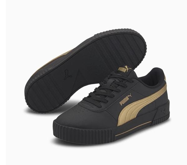PUMA CARINA META20 女款黑色運動休閒鞋-NO.37322903