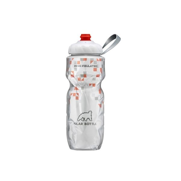 Polar Bottle 20oz保冷水壺 (600ml) / 城市綠洲 (新咬嘴.運動水壺.不含雙酚A.雙層隔熱)