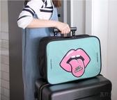 旅行包 短途出門旅行包女輕便可愛韓版拉桿旅游出差男小手提包行李收納袋