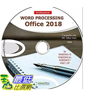 [7美國直購] 2018 amazon 亞馬遜暢銷軟體 Word Processing Office Suite 2018 Perfect Home