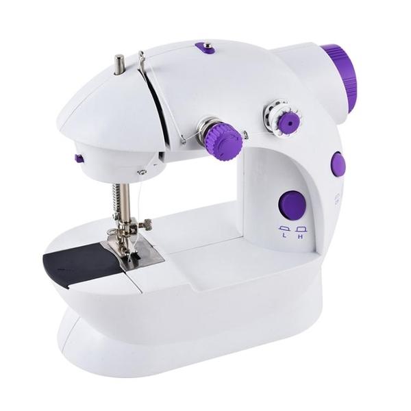 JBK202縫紉機家用 電動全自動迷你小型多功能吃厚微型台式縫衣機