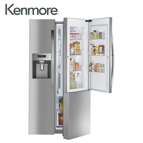 [Kenmore 楷模]702公升 對開門冰箱門外取冰取水口-不鏽鋼 51863