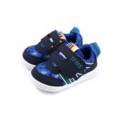IFME 機能鞋 運動鞋 藍色 恐龍 小童 童鞋 IF22-97SA2 no106