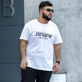 大碼2019夏季純棉胖子短袖T恤男大碼休閒寬鬆特體加肥加大半袖打底衫