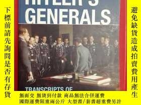 二手書博民逛書店Tapping罕見Hitler s Generals: Tran