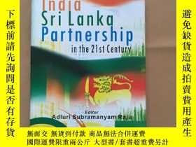 二手書博民逛書店India罕見Sri Lanka Partnership in