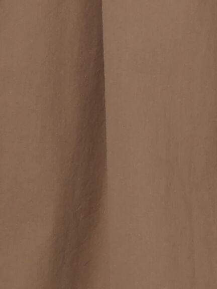「Summer」鬆緊腰素面純棉寬褲裙 (提醒 SM2僅單一尺寸) - Sm2