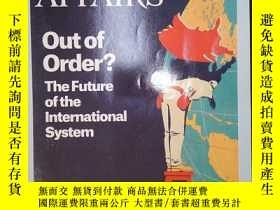 二手書博民逛書店Foreign罕見affairs(january februar