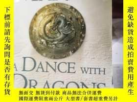 二手書博民逛書店A罕見DANCE WITH DRAGONS 1:DREAMS A