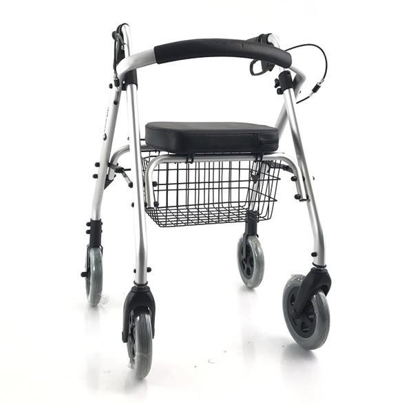 『展示出清』康而富時尚輔具 CT-500 鋁合金 四輪助行器 輕量化,助步器 銀髮族運動好幫手