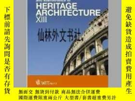 二手書博民逛書店【罕見】Structural Studies, Repairs and Maintenance of Herita