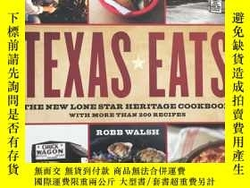 二手書博民逛書店Texas罕見Eats: The New Lone Star H