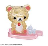 【拼圖總動員 PUZZLE STORY】牛奶熊與玩具 日系/Beverly/37P/懶懶熊/立體透明塑膠