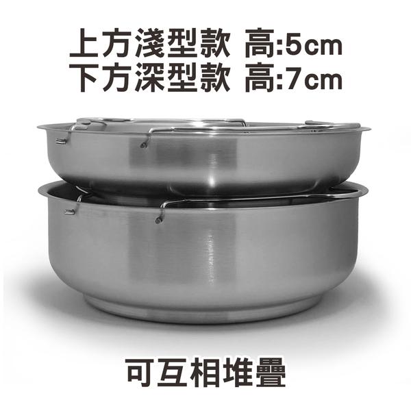 21cm深型電鍋蒸盤/蒸架 附把手可堆疊 304不鏽鋼 台灣製造 Linox 廚之坊